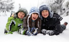 Zima w mieście Bukovel