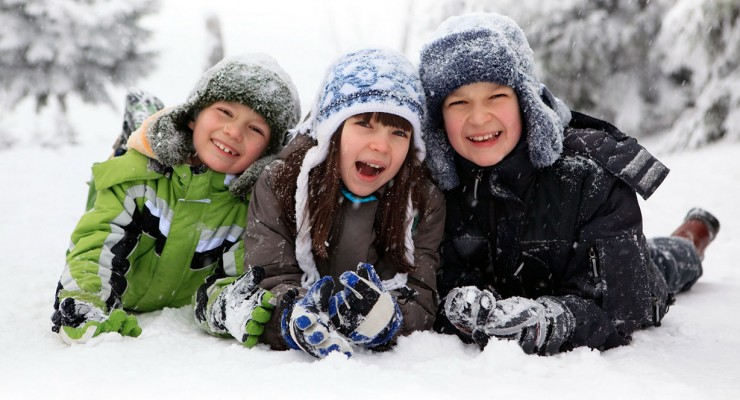 Зима в Буковелі